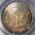 Morgan Dollar 1884-O PCGS MS 64 Deep Toned Coin WDEB-15
