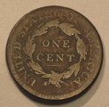 Large Cent 1814 Classic Head Nice Brown VG Details Coin WDEE-09