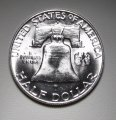 Franklin Half Dollar 1959-D MS 62 FBL Coin WDEE-08