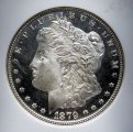 Morgan Dollar 1879-S NGC MS 66 Star Old US Silver Coin WDEC-04