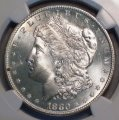 Morgan Dollar 1880-S NGC MS 65 Original White Coin WDEB-06