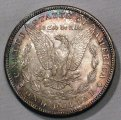 Morgan Dollar 1887-S Choice BU Nice Toning Silver Coin WDEE-16