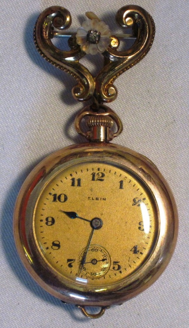 Vintage elgin pendant watch on fancy pin wdew 06 6500 decatur vintage elgin pendant watch on fancy pin wdew 06 mozeypictures Choice Image